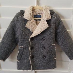 Zara Toddler Wool Jacket, 18-24M (EUC)